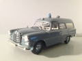 Mercedes 190 Ambulance 1961 Modelbil - Minichamps