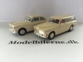 Volvo 130 1961 og Volvo 220 1962 Modelbiler - Edition ATLAS Volvo Collection & Minichamps