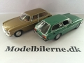 Volvo P1800ES 1971 Modelbiler - Edition ATLAS Volvo Collection & Minichamps (Grøn)