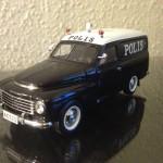 1955 Volvo PV445 Polis modelbil