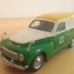1962 Volvo PV210 BPVAN Modelbil