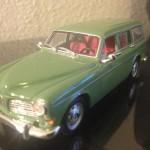 1966 Volvo 121 Amazon herregårdsvogn Modelbil