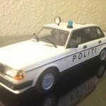 1986 Volvo 240 GL Dansk Politi