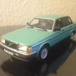 1986 Volvo 240. Modelbil