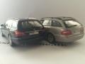 Mercedes Benz E-klasse 2003 og 2009 - Modelbiler 1:43