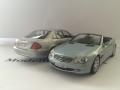 Mercedes Modelbiler SL og E-klasse - Minichamps