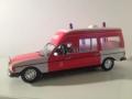 Mercedes W123 Ambulance 1972 Modelbil - Norev