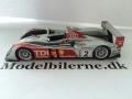 Audi R10 TDI 2007 Le Mans Modelbil - Minichamps