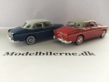 Volvo 120 Amazon 1956 og 1959 Modelbiler - Edition ATLAS Volvo Collection & Minichamps