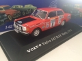 Volvo 142. Rally 1974 Modelbil - Edition ATLAS Volvo Collection