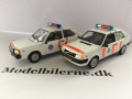 Volvo 343 1973 og Volvo 340DL 1985 Politie Modelbiler - Edition ATLAS Volvo Collection & (340) NEO