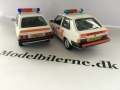 VVolvo 343 1973 og Volvo 340DL 1985 Politie Modelbiler - Edition ATLAS Volvo Collection & (340) NEO