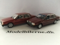 Volvo 740 Turbo og 740GL 1986 Modelbiler - Edition ATLAS Volvo Collection & Minichamps