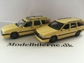 Volvo 850 T-5R 1994 og 1995 Modelbiler - Edition ATLAS Volvo Collection & HPI