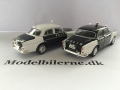Volvo Amazon Polis 1964 og 1966 Modelbiler - Edition ATLAS Volvo Collection & Minichamps